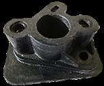 Переходник карбюратора косы (маленькое отверстие)  Мотор Сич