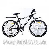 Велосипед спортивный 26 дюймов двухколесный Profi ХМ 263 ACTIVE черный
