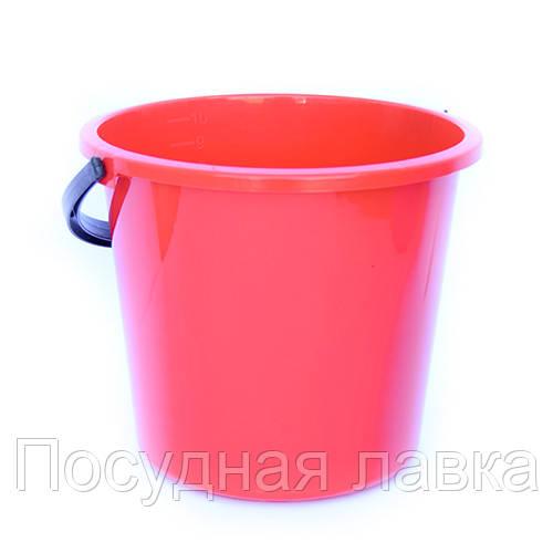 Ведро пластмассовое 10 л пищевое - Посудная лавка в Николаеве