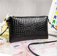 Женский клатч кошелек черного цвета, фото 1