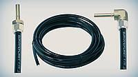 Трубка термопластиковая FARO D8 мм (2 метра со штуцерами прямой+угловой)