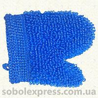 Мочалка рукавица длинная петля 0716