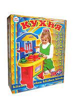 Кухня игровой набор детский для девочки Технок 2124