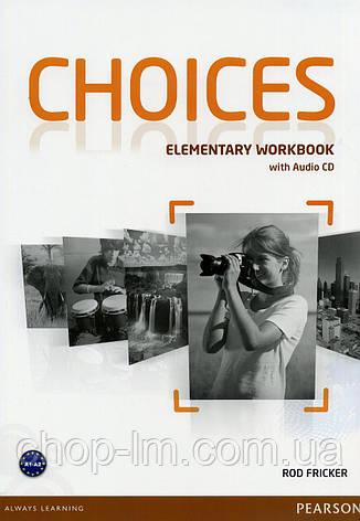 Choices Elementary Workbook & Audio CD Pack (рабочая тетрадь/зошит), фото 2