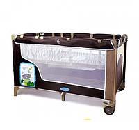 Манеж-кровать детский двухуровневый с пеленатором Tilly ВТ 016 SL