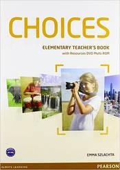 Choices Elementary Teacher's Book & DVD Multi-ROM Pack (книга для учителя)