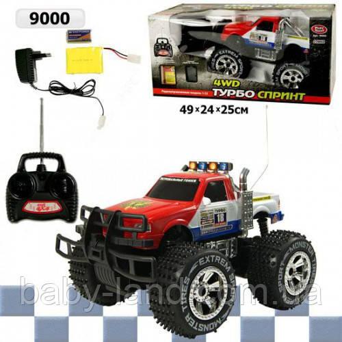 Машинка-джип детская на радиоуправлении аккумуляторная Limo Toy 9000