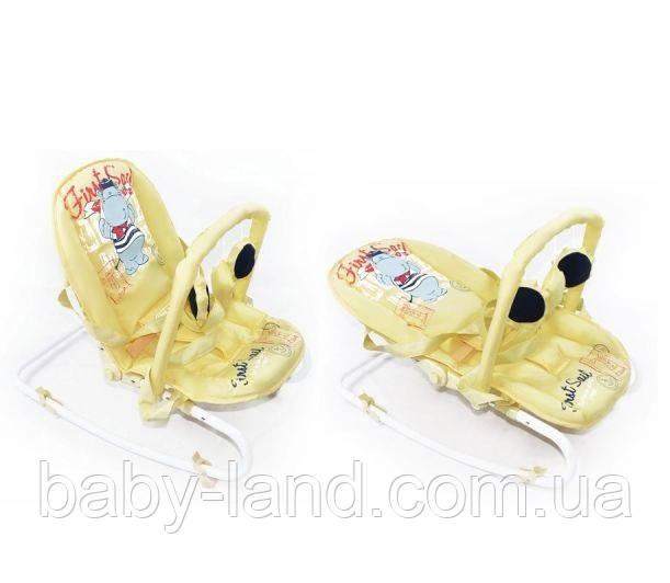 Шезлонг качалка детский дуга с подвесками Baby Tilly 0001