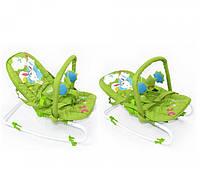 Шезлонг качалка детский дуга с подвесками Baby Tilly 0001, фото 1