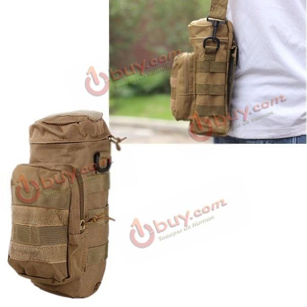 Мужская сумка через плечо тактическая тканевая