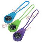 Выживание мини компас Тип весов с водой повесить веревку случайный цвет, фото 5