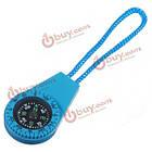 Выживание мини компас Тип весов с водой повесить веревку случайный цвет, фото 8
