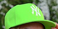 Молодежная Бейсболка Нью Йорк салат р. 57 (сезон: весна-лето)