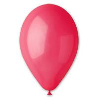 """Воздушные шары красные 12""""/05 1102-0303  Пастель. Воздушные шары оптом."""