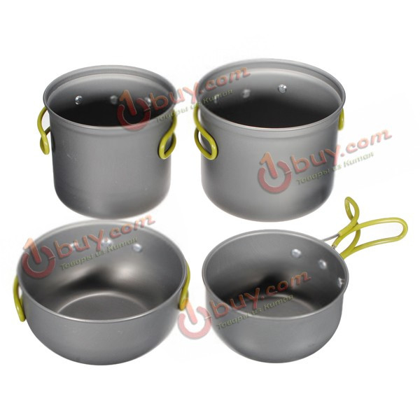 Набор туристической посуды для приготовления еды