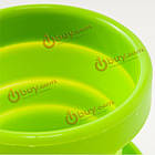 Портативный путешествия силиконовые чашки открытый спортивный телескопический полоскание кружка, фото 5