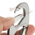 Алюминиевый карабин зажим Snap крюк брелок пешие прогулки бутылка пряжка, фото 5