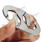 Алюминиевый карабин зажим Snap крюк брелок пешие прогулки бутылка пряжка, фото 8
