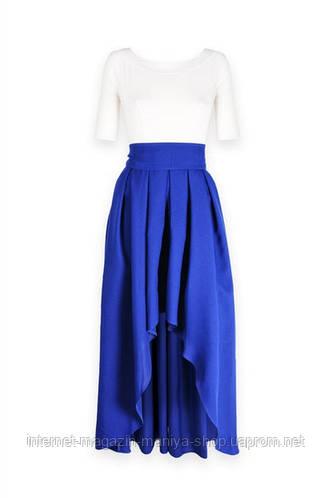 Женское платье асиметрия