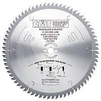 Пильный диск  по ПВХ и оргстеклу D = 250 мм.