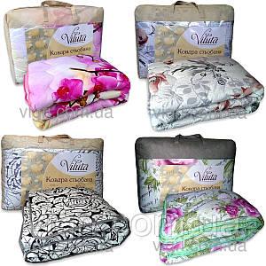 Одеяло шерстяное стеганное полуторное 140 х 205  ВИЛЮТА (VILUTA) ОД Premium