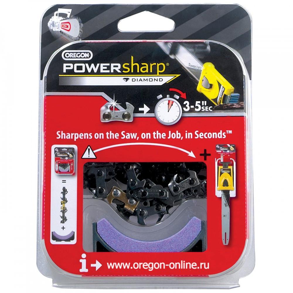 "Набор OREGON Powersharp PS56E шина(16""/3/8/1,3)+Box+цепь+камень (16""/3/8/1,3)"
