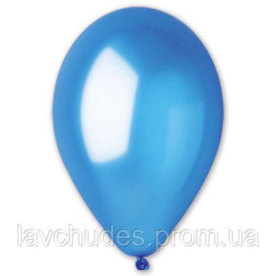 "Воздушные шары 12""/36 Металлик синий"