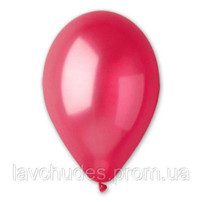 """Воздушные шары 12""""/32 Металлик красный"""