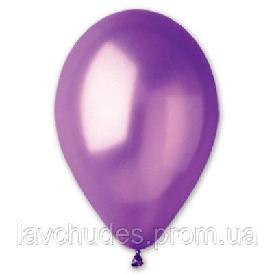 """Воздушные шары 12""""/34 Металлик фиолетовый"""