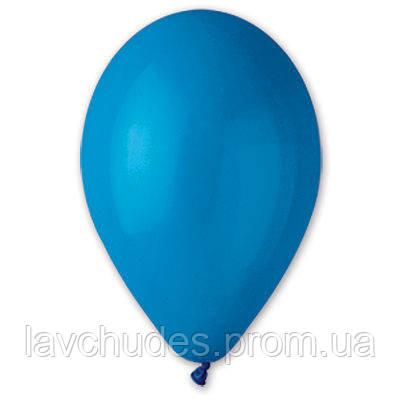"""Воздушные шары 12""""/46 Пастель синий"""