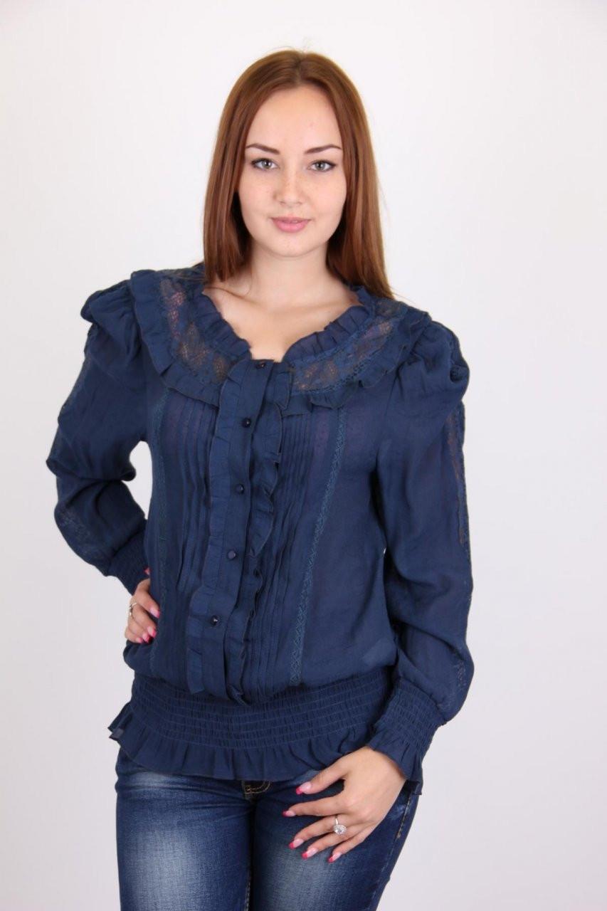 Привлекательная женская блуза. Размер: 44,46,48,50.