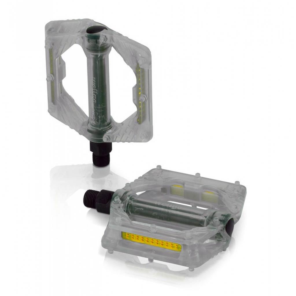Педали XLC PD-M16, 326 гр, прозрачные (ST)