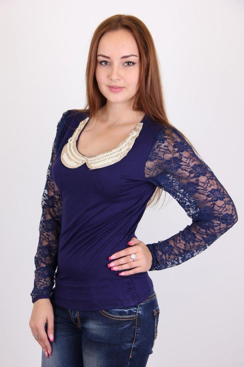 c2900c3104a Оригинальная легкая гипюровая женская блуза