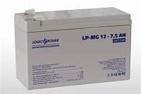 Аккумулятор мультигелевый 12V 7,5Ah LogicPower LP-MG 12-7,5