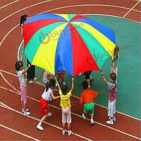 Парашют детский игровой 3 метра 8 ручек
