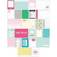 Набор карточек Project Life Teen Girl 60 шт (718813802253)