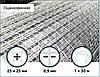 Сетка оцинкованная сварная 25х25х0,9мм 1/30м