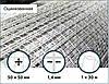 Сетка оцинкованная сварная 50х50х1,4мм 1/30м