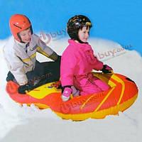 Надувной круг на для катания по снегу 140 х 80см