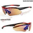 Велоспорт спортивные солнцезащитные очки открытый очки очки солнечные очки uv400, фото 3