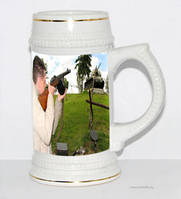 Пивной бокал с фото