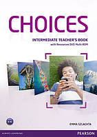 Choices Intermediate Teacher's Book & DVD Multi-ROM Pack (книга для учителя)