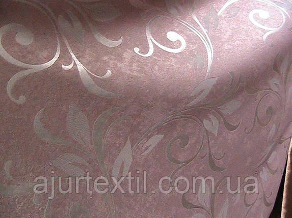 """Штора Блэкаут """"Королевские лепестки """" пастель светонепроницаемые  шторы, фото 2"""