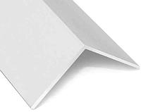 Уголок Прямой пластиковый декоративный 25*25 белый, 2,7 м