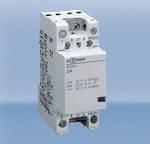 Модульный контактор четырехполюсный переменного тока 25A  ампер 4 кВт, 440V AC цена купить