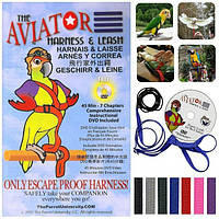 Прогулянкові шлейки для папуг Aviator (X-Small)