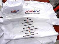 Печать на кепках и футболках