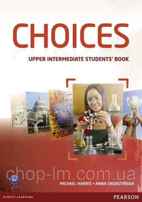 Choices Upper-Intermediate Students' Book (учебник/підручник)