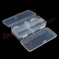 Многофункциональный прозрачный пластик рыболовные снасти ящик для рыбалки приманки крючки для хранения