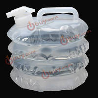 Канистра-гармошка для воды пластиковая складная 3л